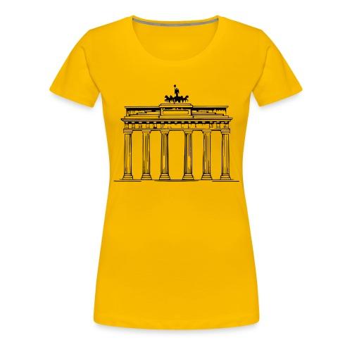 Brandenburger Tor Berlin Victoria Streitwagen - Frauen Premium T-Shirt