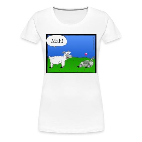 Mäh-Schaf - Frauen Premium T-Shirt