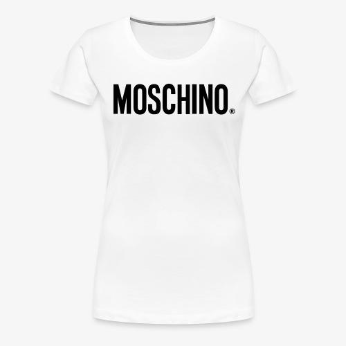 MOSCHINO - Camiseta premium mujer