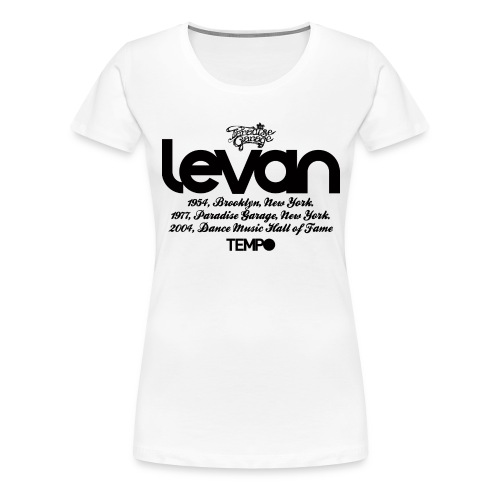 Levan Paradise Garage in Black - Women's Premium T-Shirt