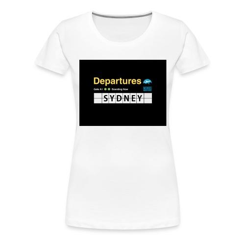 SYDNEY png - Maglietta Premium da donna