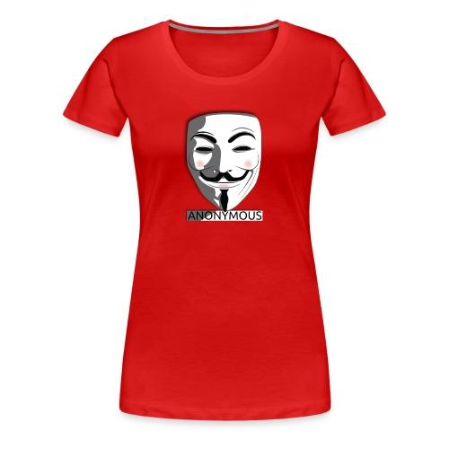 Anonymous - Women's Premium T-Shirt