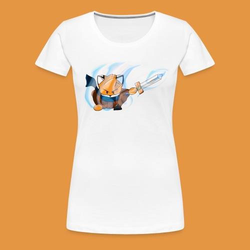 Flamme et épée - T-shirt Premium Femme