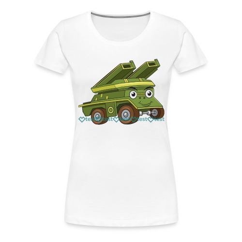 test design sprd 3 1 - T-shirt Premium Femme