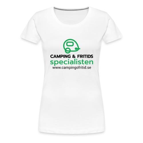 Camping & Fritidsspecialisten NEW 2020! - Premium-T-shirt dam