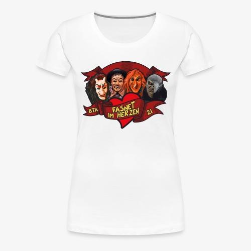 Fasnet im Herzen - Frauen Premium T-Shirt