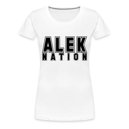 ALEKNATION T-SKJORTE - Premium T-skjorte for kvinner