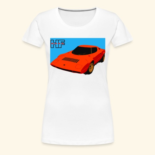 rally car - Women's Premium T-Shirt