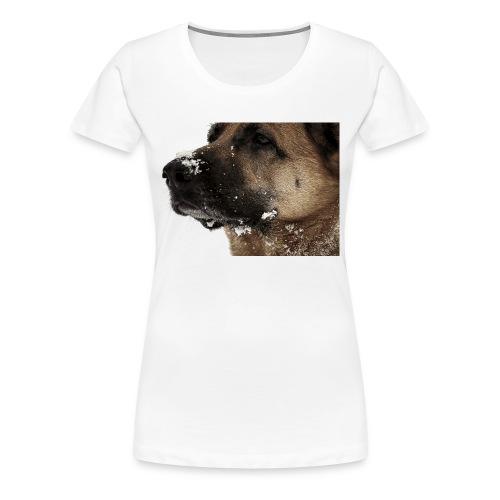 Stolze Schneekönigin - Frauen Premium T-Shirt