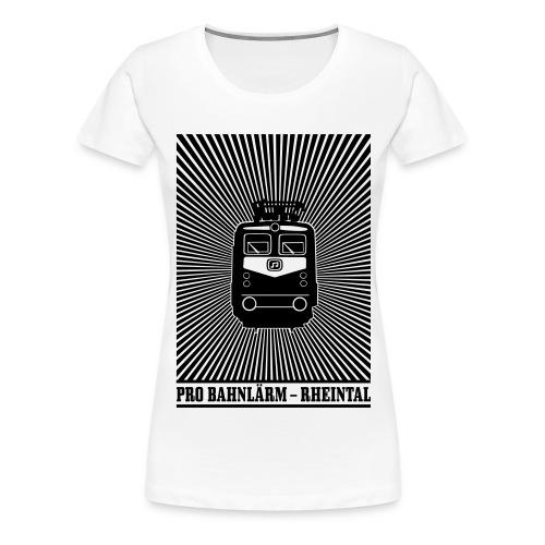 Pro Bahnlärm kommt - Frauen Premium T-Shirt