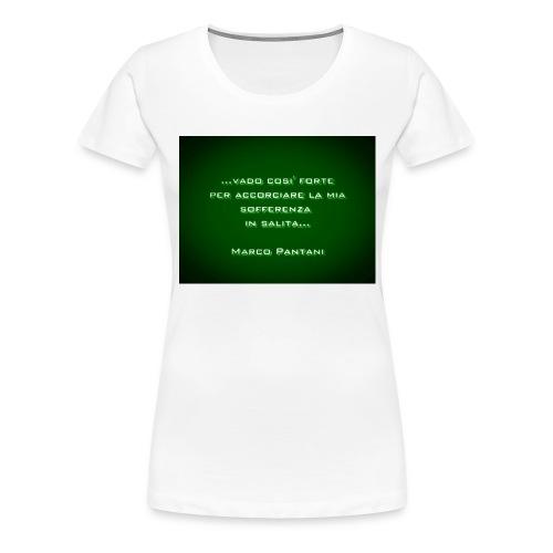 Citazione - Maglietta Premium da donna