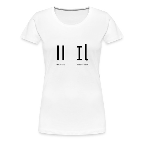 butta-png - Maglietta Premium da donna