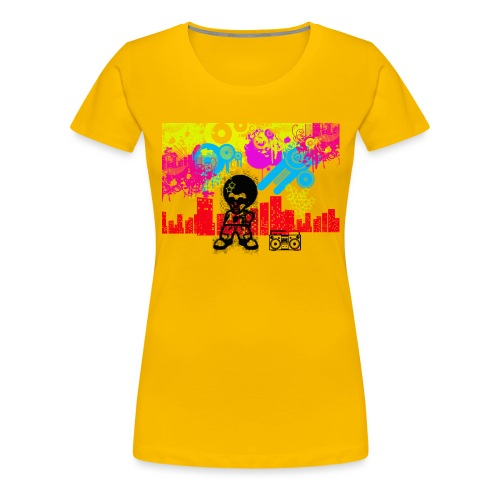 Magliette personalizzate bambini Dancefloor - Maglietta Premium da donna