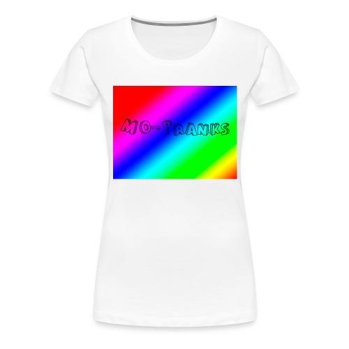 MO-Pranks rainbow - Premium T-skjorte for kvinner