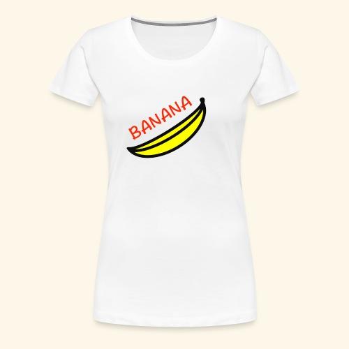 banana - Maglietta Premium da donna