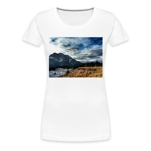 Wolkenband - Frauen Premium T-Shirt