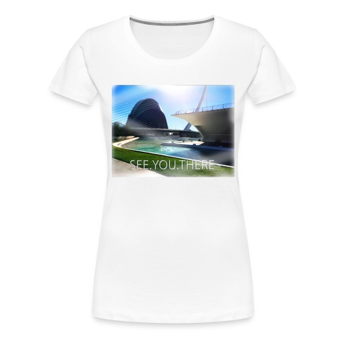 see.you.there - Frauen Premium T-Shirt