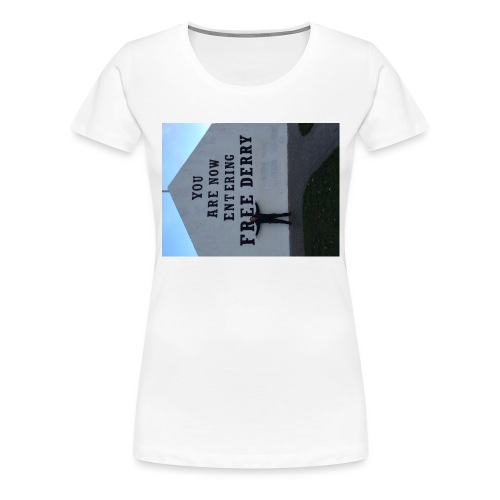 free derry - Women's Premium T-Shirt