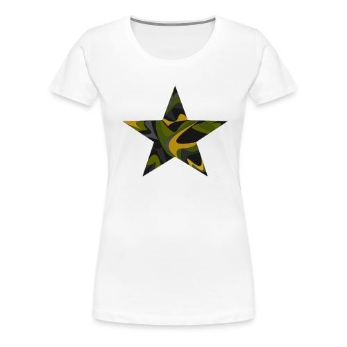 Weird Star - Frauen Premium T-Shirt