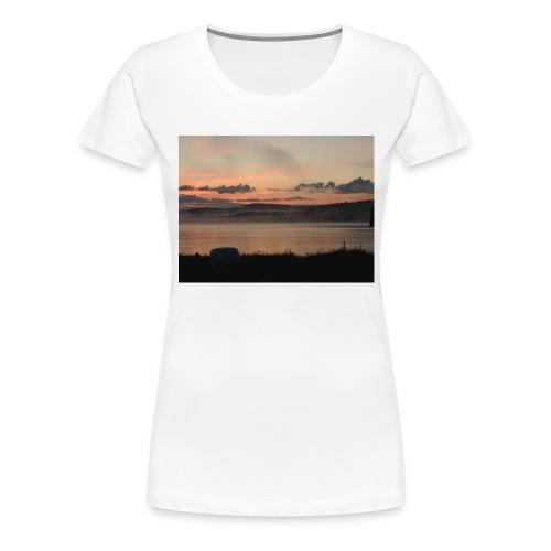 Himmel i Tornedalen - Premium-T-shirt dam