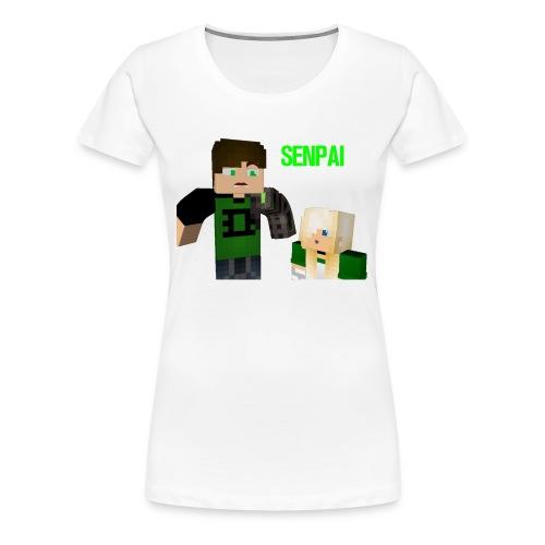 Senpai marcus - Women's Premium T-Shirt