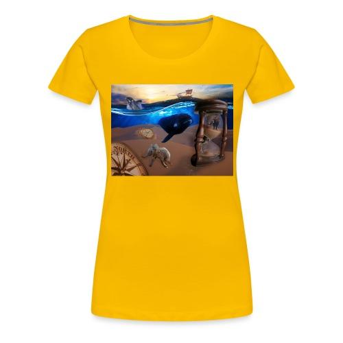 Wodne Przemyślenia - Koszulka damska Premium