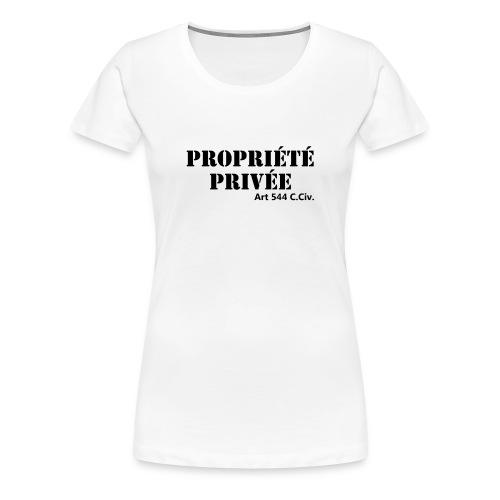 Propriété privée - T-shirt Premium Femme