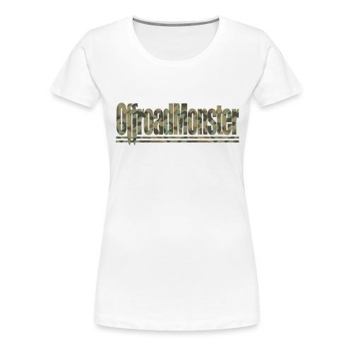 OffroasMonster_Camouflage_T-Shirt - Frauen Premium T-Shirt