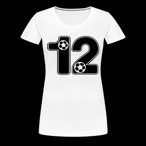 foot numero 12 - Women's Premium T-Shirt
