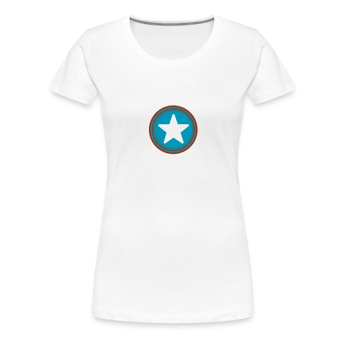 Étoile américaine. - T-shirt Premium Femme