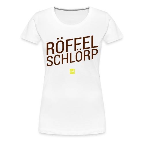 schakko roeffel brand - Frauen Premium T-Shirt