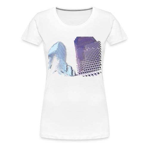 Landscape blu - Women's Premium T-Shirt