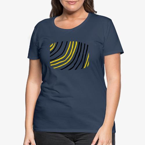 Raidat - Naisten premium t-paita