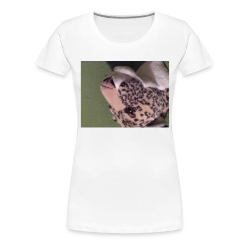 Opdekop tijger - Vrouwen Premium T-shirt
