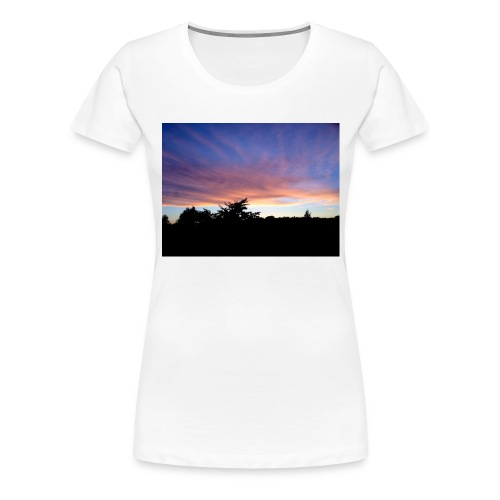 Sunset - Dame premium T-shirt