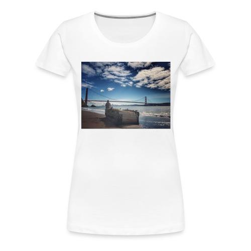 poncio - Camiseta premium mujer