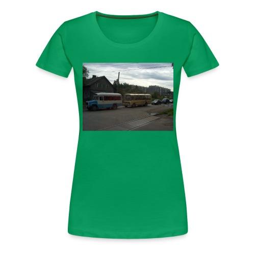 Sortavala - Naisten premium t-paita