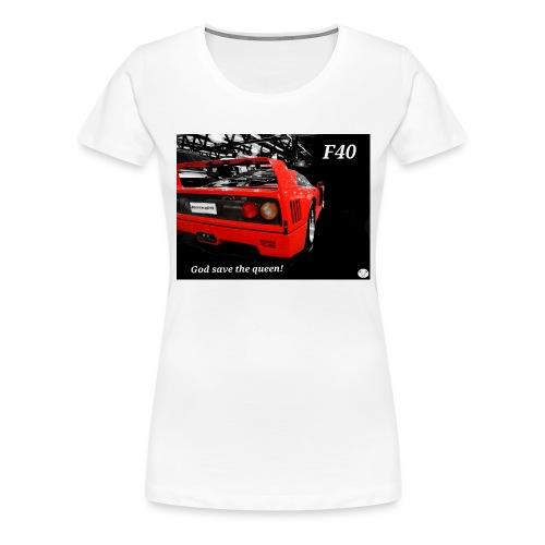 f40 - Maglietta Premium da donna