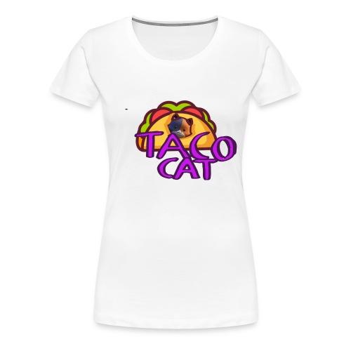 TACO CAT - Premium-T-shirt dam