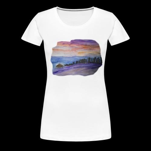 STrandsteine - Frauen Premium T-Shirt