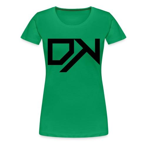 DewKee Logo Cap Black - Women's Premium T-Shirt