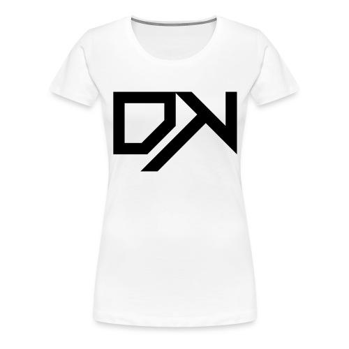 DewKee Logo Samung Galaxy S4 Case Black - Women's Premium T-Shirt