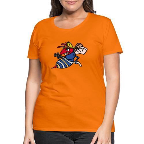 fire hornet - Frauen Premium T-Shirt