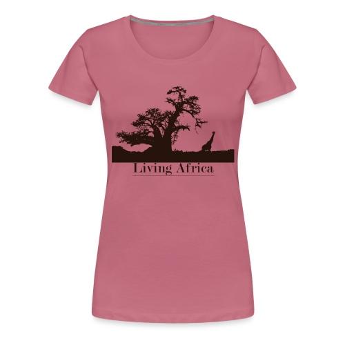 Ultimate_Living_Africa-png - Maglietta Premium da donna