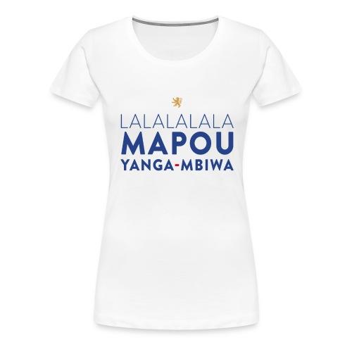 Mapou YANGA-MBIWA - T-shirt Premium Femme