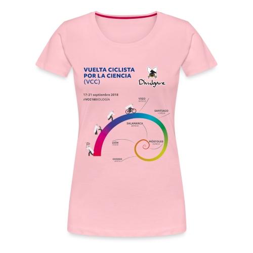 Vuelta Ciclista por la Ciencia - Camiseta premium mujer