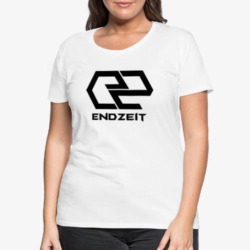 Endzeit Logo Black - Frauen Premium T-Shirt