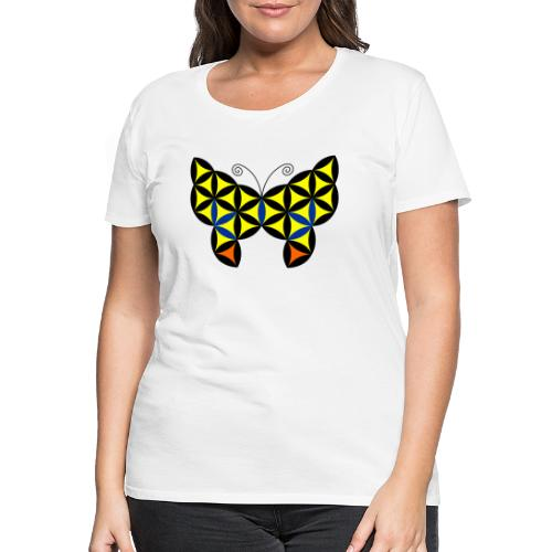 The Butterfly Of Life - Sacred Animals - Women's Premium T-Shirt