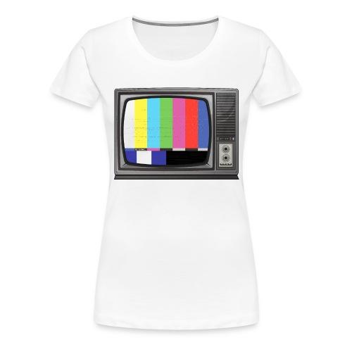 tv signal - T-shirt Premium Femme
