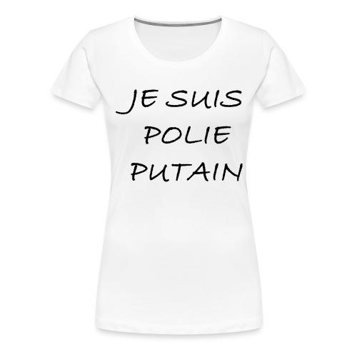 POLIE - T-shirt Premium Femme